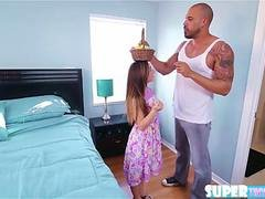 Beautiful and horny Bambi Brooks gets fucked by J Macs big dick