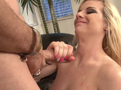 Great BJ gets this girl fucked by his big cock