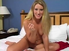 Tammy - Blonde Wank Instruction  G121