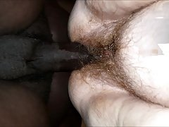 Angel, FAT Hairy Pussy But Tight Hole
