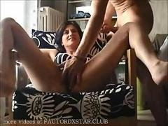 Amateur milf fuck and cum in mouth