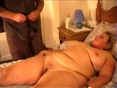 enormously immense gal banging after massage