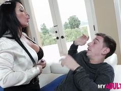 Brian Face Fucks His Stepmom