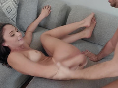 Cutie just moved in and is already having sex with mate