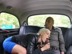 Lady Fake Taxi Sizeable black cock creampies blondes hot tight Czech twat