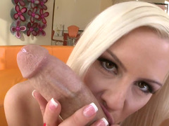 Anal, Cul, Blonde, Queue, Hard, Serré