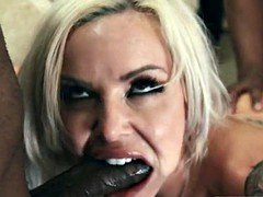 PORNFIDELITY Nina Elle Takes On Two Big Black Cocks