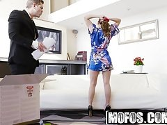 Mofos - Latina Sex Tapes - Spanish Babe Seduces Salesman sta