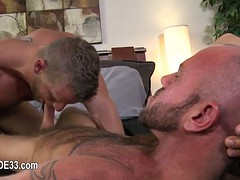 buddies with cock deeply inserted in his bottom