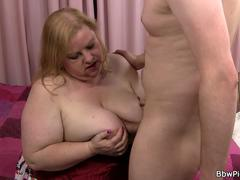 Busty fat ass plumper picked up for cock riding