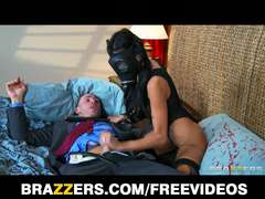 Brazzers - Lonely wife Breanne Benson takes big-rock hard-on