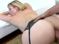 Freaky big ass girl lets her ass be used in some very kinky ways