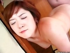 Sweet Sonomi Kougen fucked doggy style