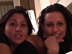 PUTA LOCURA Two Spanish sisters fucked by Torbe