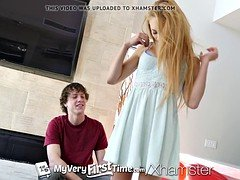 MY VERY FIRST TIME First timer Zoe Clark fucked and facialed