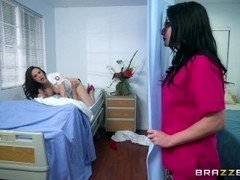 Brazzers - Nurses Chanel and Veruca share big dick