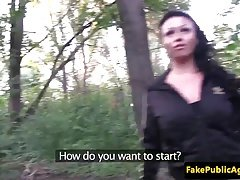 Pulled hungarian amateur fucking in the park