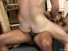 Daddy Alessio Romero gets Cock in Employees Ass