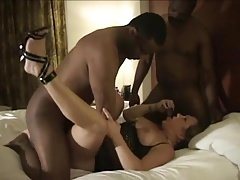 Husband Enjoys Watching Amateur Cuckold Wife Swing - Part 1