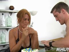 Mature whore craves to get it on with this handsome young dude in multiple positions