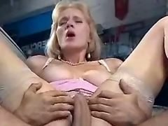 Aged & Milf in stocking compilation 5