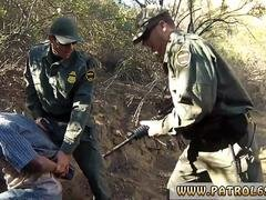 Cop tied up and fucked Kayla West was caught lusty patrool during border crossing