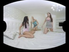 """Blanche, Ellie and Daphne in a special group scene """"The Sleepover"""" Part 1"""