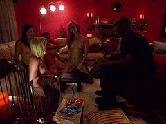 Swingers swap partners and enjoyed group sex