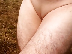 shaved pussy outdoor
