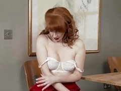 Eager mom Wearing Naked Nylons