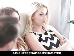 DaughterSwap - Collection Of Hot Teens Fucking Horny Dads