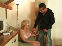 Slim grown-up mother in law taboo dick riding
