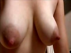 Sweet mom with hairy cunt & saggy tasty boobs