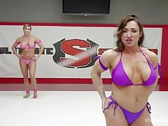 Femme dominatrice, Hd, Muscle, Strapon