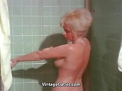 Dirty Babes Taking Hot Shower (1960s Vintage)