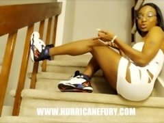powerhouse squirting: must be the shoes