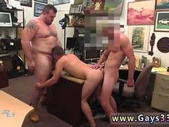 Straight mutual masturbation couple gay Guy finishes up with anal invasion fuckyfucky