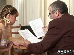 old tutor gets cock loving action film film 1