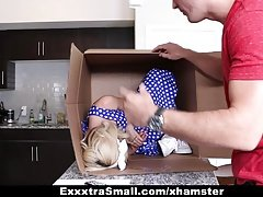 ExxxtraSmall - Tiny Life Like Doll Fucked