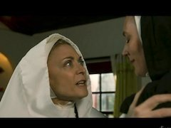Sinful nuns spend an afternoon exploring lesbian sex