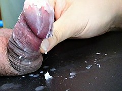 urethra hot wax and glans
