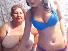 Mature PLUMPER Mom and not Her Teenager Daughter Play on Web Cam