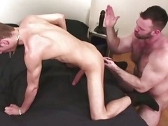 Huge bear drills sweet studs tight ass