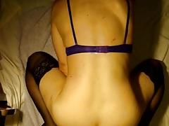 purple crossdress fuck