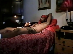 Guy by himself masturbating