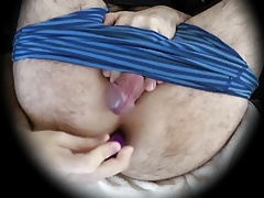 Hands Free Anal Masturbation Orgasm Cumshot Self-Seeding XVI