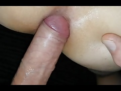 Boy gets 2 big loads of cum after being fucked BAREBACK