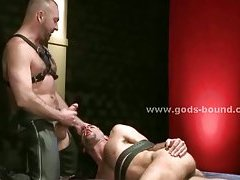 Gay sex slave forced to fuck