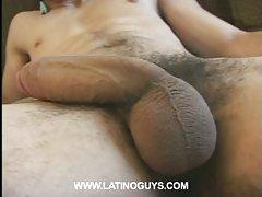 Latin Guy Jacking Off