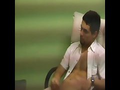 Gay hidden cam cock jerking